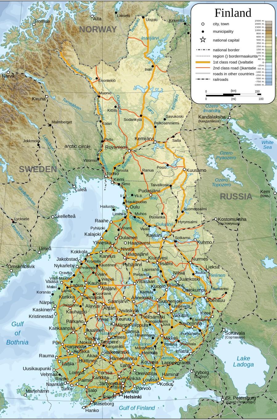 Cartina Italia Montagne